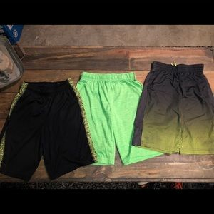 Bundle of athletic shorts